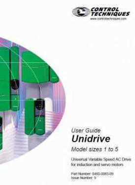 Control Techniques Unidrive Advanced Par