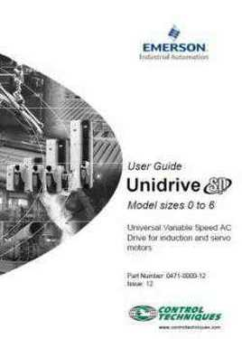 Control Techniques SP Unidrive Product I
