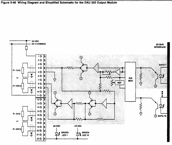 AS-B262-001 - Modicon 984 Series 984 Wiring Image